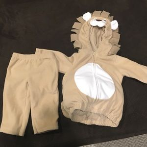 Carter's Costumes - Lion costume.